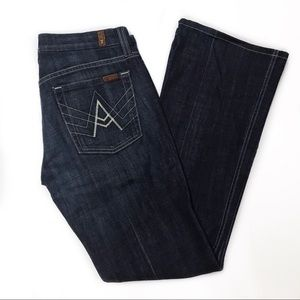 7 FOR ALL MANKIND A-Pocket Stretch Jeans Size 27